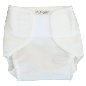 Culotte de protection Blanche à velcro-XS