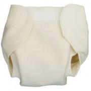 Culotte de protection blanche à velcro-L